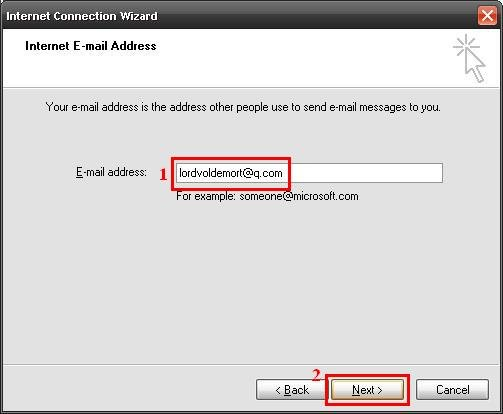 Outlook Express - Step 4