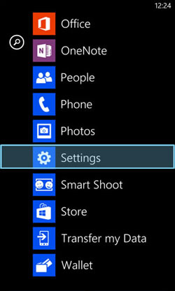 Windows Phone Email Configuration